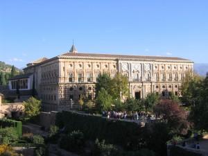 9_Granada - Alhambra - Palacio_Carlos_V