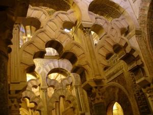 Cordoba Mezquita Mihrab to right